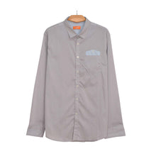 Load image into Gallery viewer, MEN'S L/S WOVEN SHIRT-GREY LINE SKY PKT-25 - Export Mall Online Store Sale