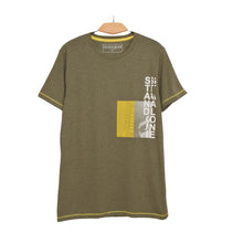 Load image into Gallery viewer, MEN'S S/S GRAPHIC TEE-Olive-EMSS21KM-1007 - Export Mall Online Store Sale