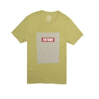 MEN'S S/S GRAPHIC TEE-LIGHT GREEN-EMSS21KM-1042 - Export Mall Online Store Sale