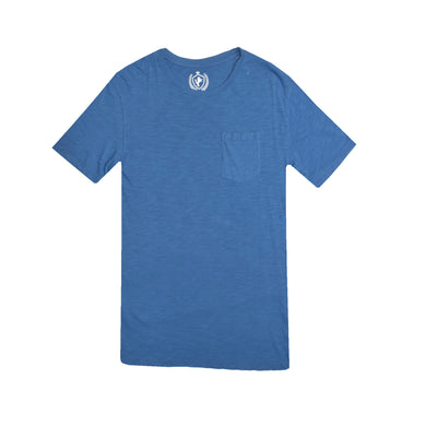 MENS S/S GRAPHIC TEE-BLUE-EMSS21KM-1050 - Export Mall Online Store Sale