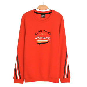 BOY'S L/S SWEAT SHIRT-RED-EMFW20KB-1123 - Export Mall Online Store Sale
