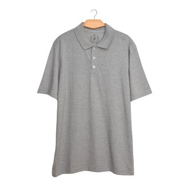 MEN'S S/S POLO-GREY-SSSS21KM-1020 - Export Mall Online Store Sale