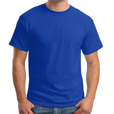 Men's S/S Solid Tee - Royale Blue - Export Mall Online Store Sale