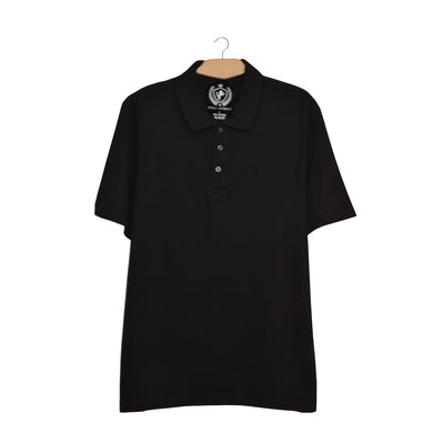 MEN'S S/S POLO-BLACK-SSSS21KM-1020 - Export Mall Online Store Sale