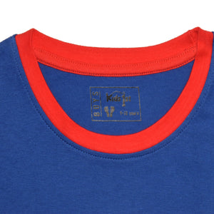 BOY'S L/S GRAPHIC TEE-ROYAL BLUE-EMSS21KB-1105 - Export Mall Online Store Sale