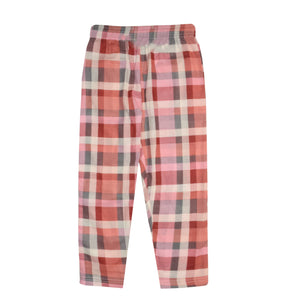GIRL'S TROUSER-PINK/MAROON-EMSS21WG-4401 - Export Mall Online Store Sale