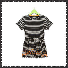 Load image into Gallery viewer, GIRL'S TUNIC-BLACK/WHITE-EMSS21KG-2238 - Export Mall Online Store Sale