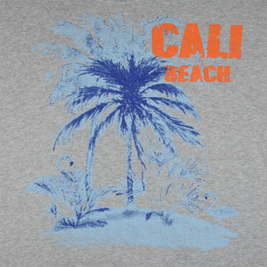WOMEN'S L/S FASHION TEE-GREY CALI BEACH-25 - Export Mall Online Store Sale