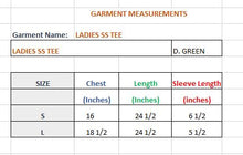 Load image into Gallery viewer, WOMEN'S S/S D. GREEN- 3615 - Export Mall Online Store Sale