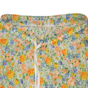 WOMEN'S TROUSER-WHITE/YELLOW-EMSS21WW-4001 - Export Mall Online Store Sale