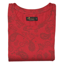 Load image into Gallery viewer, WOMEN'S KNIT SHIRT RED FLOWER-3584 - Export Mall Online Store Sale