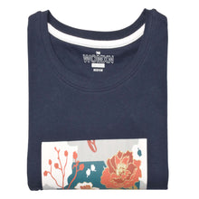 Load image into Gallery viewer, WOMEN'S L/S GRAPHIC TEE-MOON INDIGO-EMFW20KW-2004 - Export Mall Online Store Sale