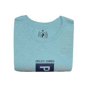 MENS S/S GRAPHIC TEE-LIGHT BLUE-EMSS21KM-1052 - Export Mall Online Store Sale