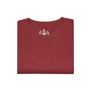 MENS S/S GRAPHIC TEE-MAROON-EMSS21KM-1050 - Export Mall Online Store Sale