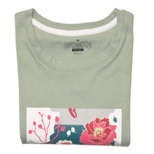 Load image into Gallery viewer, WOMEN'S L/S GRAPHIC TEE-CHINOS GREEN-EMFW20KW-2004 - Export Mall Online Store Sale