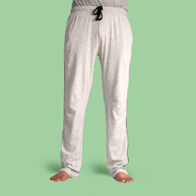 MEN'S TROUSER - LIGHT GREY HTR - Export Mall Online Store Sale