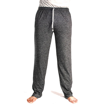 MEN'S TROUSER - BLACK GREY HTR - Export Mall Online Store Sale