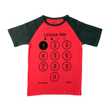 Load image into Gallery viewer, BOYS S/S RAGLAN-Red/Black-SSSS20KB-1111 - Export Mall Online Store Sale