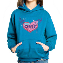 Load image into Gallery viewer, GIRL'S PULLOVER HOOD-TURQUISE-SSFW20KG-2202 - Export Mall Online Store Sale