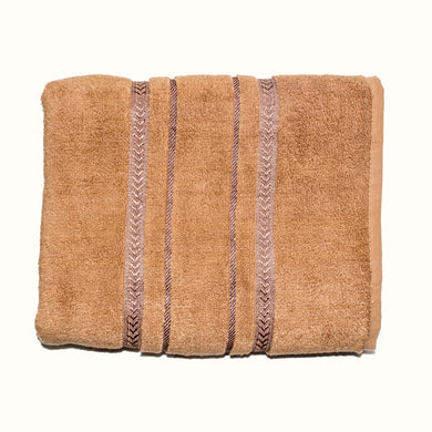 FACE TOWEL-ULTRA SOFT-CAMEL-9001 - Export Mall Online Store Sale