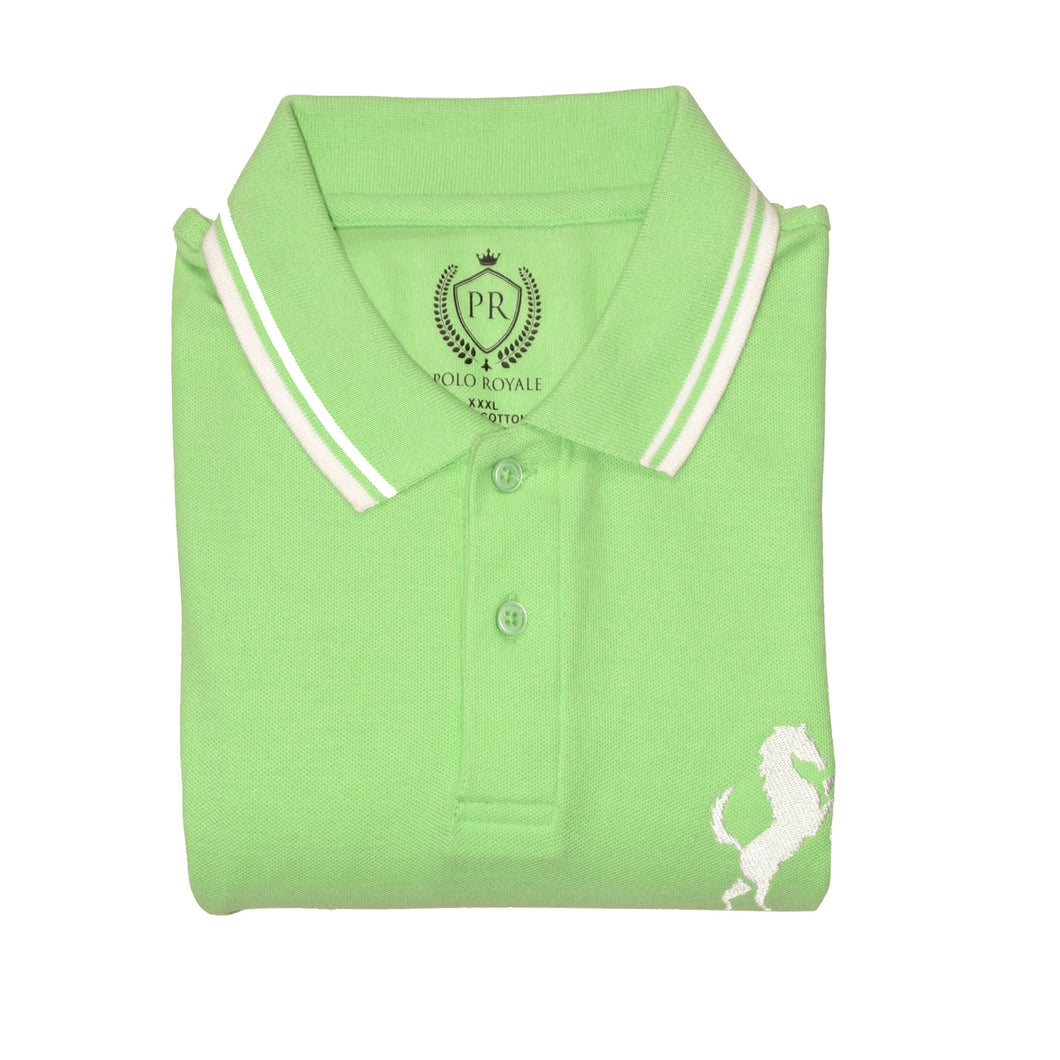 MEN'S S/S PARROT POLO-3698 - Export Mall Online Store Sale