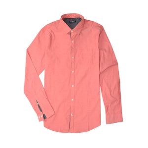 MEN'S WOVEN SHIRT PEACH-3812 - Export Mall Online Store Sale