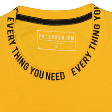 Load image into Gallery viewer, MEN'S S/S GRAPHIC TEE-MUSTARD-EMFW20KM-1012 - Export Mall Online Store Sale