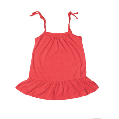 GIRL'S KNIT FROCK - RED GPTEE01 - Export Mall Online Store Sale