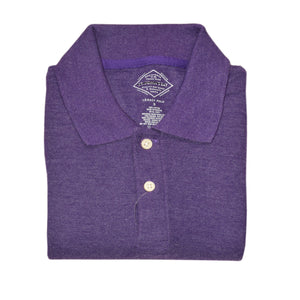 MEN'S S/S PURPLE POLO-3732 - Export Mall Online Store Sale