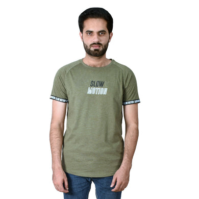 MEN'S S/S GRAPHIC REGLAN GREEN-1004 - Export Mall Online Store Sale