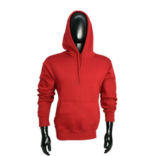 Load image into Gallery viewer, MEN'S BURGUNDY PULLOVER HOOD-3663 - Export Mall Online Store Sale