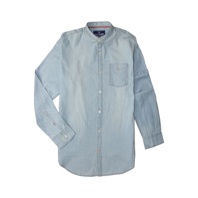 MEN'S WOVEN SHIRT DENIM-3815 - Export Mall Online Store Sale