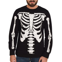 Load image into Gallery viewer, MEN'S L/S SWEAT SHIRT-BLCK PRINT 3837-25 - Export Mall Online Store Sale