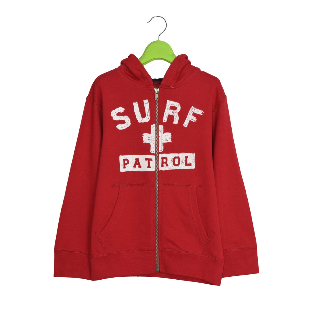 BOY'S ZIPPER HOOD - SURF RED 25 - Export Mall Online Store Sale