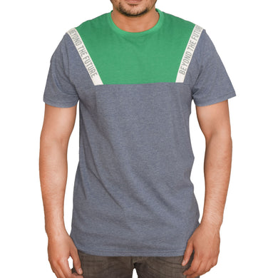 MEN'S S/S GRAPHIC TEE-DENIM HTR-EMFW20KM-1019 - Export Mall Online Store Sale