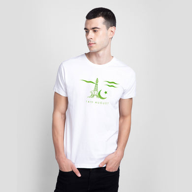 MEN'S S/S GRAPHIC TEE-WHITE-SSSS20KW-1032 - Export Mall Online Store Sale