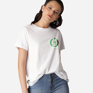 WOMEN'S S/S GRAPHIC TEE-WHITE-EMSS20KW-2009 - Export Mall Online Store Sale