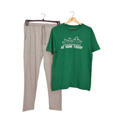 MEN'S SET- GREEN/GREY-1036 - Export Mall Online Store Sale
