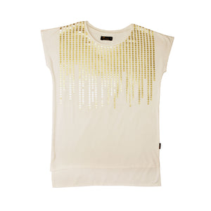 WOMEN'S KNIT SHIRT-OFFWHITE-3588 - Export Mall Online Store Sale