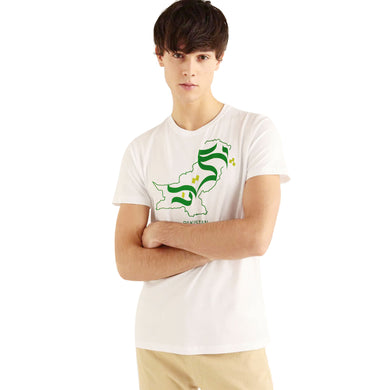 MEN'S S/S GRAPHIC TEE-WHITE-EMSS20KM-1030 - Export Mall Online Store Sale