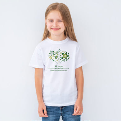 GIRL'S S/S GRAPHIC TEE-WHITE-EMSS20KG-2216 - Export Mall Online Store Sale