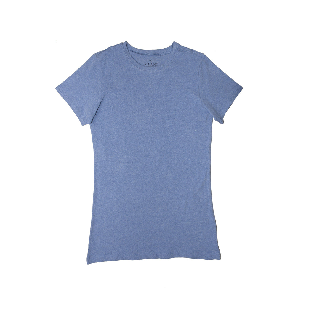 WOMEN'S S/S TEE-WHITE-3571 - Export Mall Online Store Sale