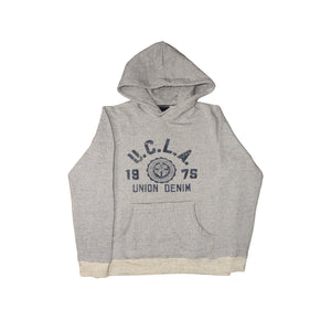 MEN'S PULLOVER HOOD-OATMEAL-SSFW20KM-1005 - Export Mall Online Store Sale