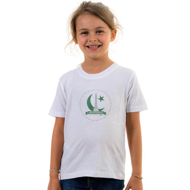 GIRL'S S/S GRAPHIC TEE-WHITE-EMSS20KG-2217 - Export Mall Online Store Sale