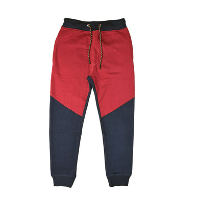 BOY'S TROUSER-NAVY/MAROON-EMFW20KB-1118 - Export Mall Online Store Sale