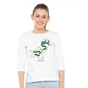 WOMEN'S S/S GRAPHIC TEE-WHITE-EMSS20KW-2005 - Export Mall Online Store Sale