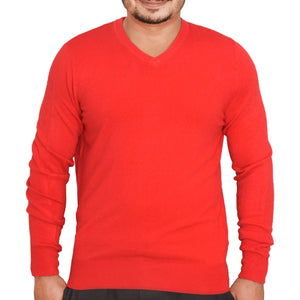 MEN'S L/S SWEATER-RED-SSFW20KM-1054 - Export Mall Online Store Sale