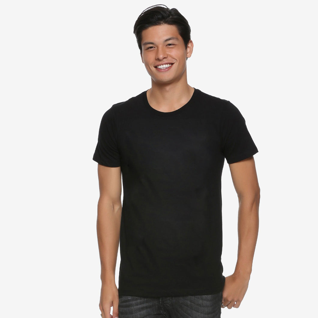 MEN'S S/S TEE-BLACK-SSSS20KM-1038 - Export Mall Online Store Sale