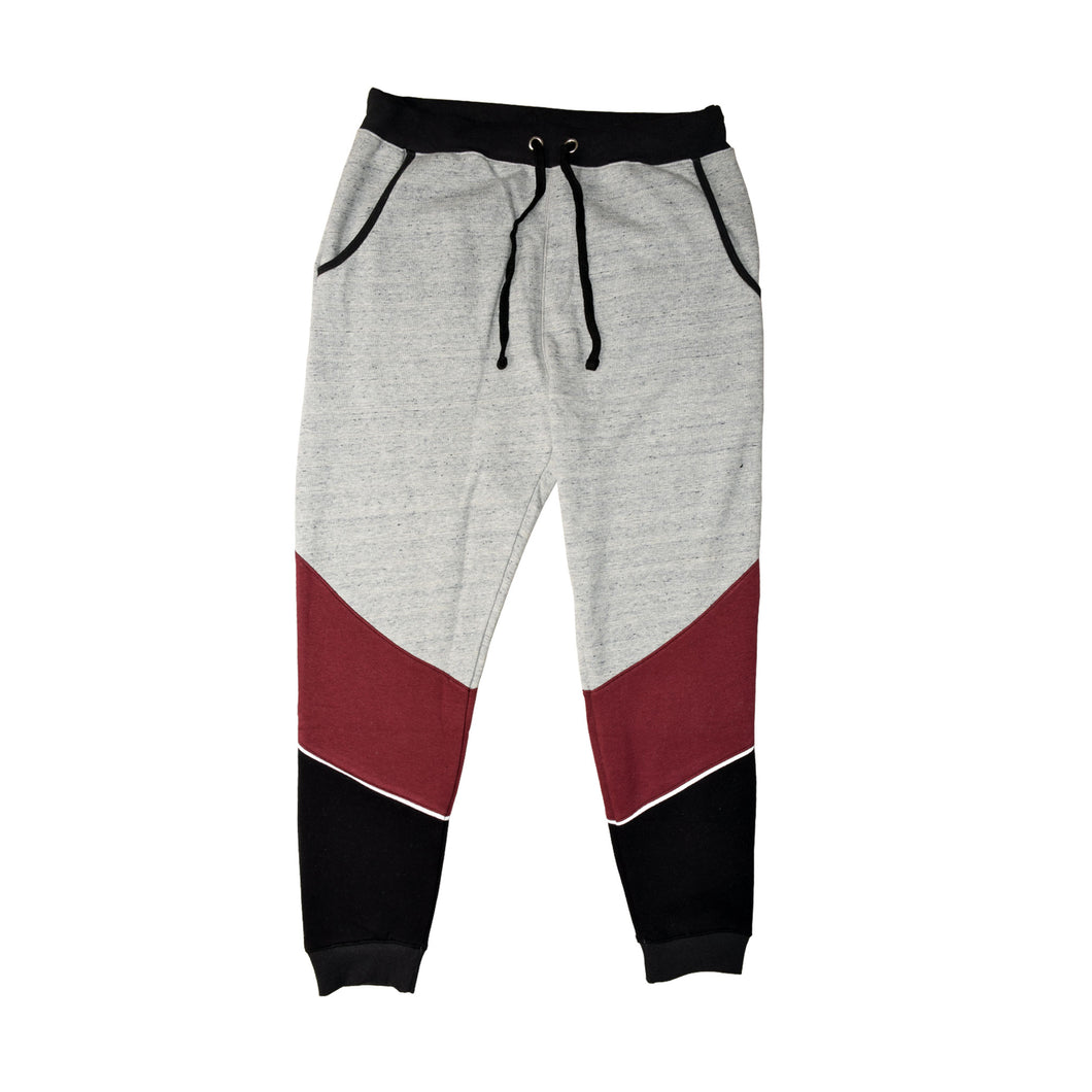 MEN'S TROUSER-GREY/MAROON-EMFW20KM-1053 - Export Mall Online Store Sale