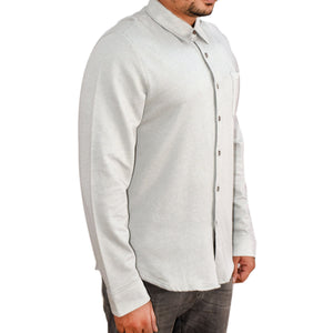 MEN'S L/S SHIRT-GREY-SSFW20KM-1008 - Export Mall Online Store Sale